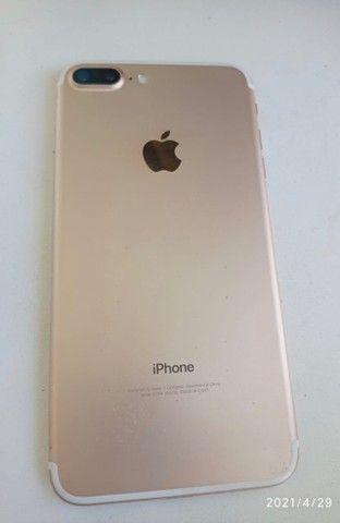 iPhone 7 Plus Gold - 32 Gb - ótimo estado