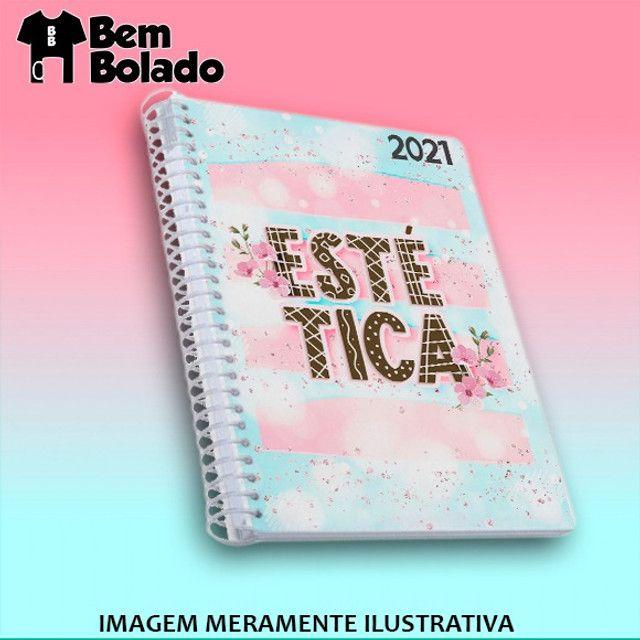Agenda 2021 Manicure Cabeleireira Salão de Beleza - Foto 5