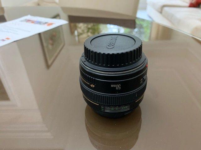 Lente canon 50 mm f 1.4 - Foto 3