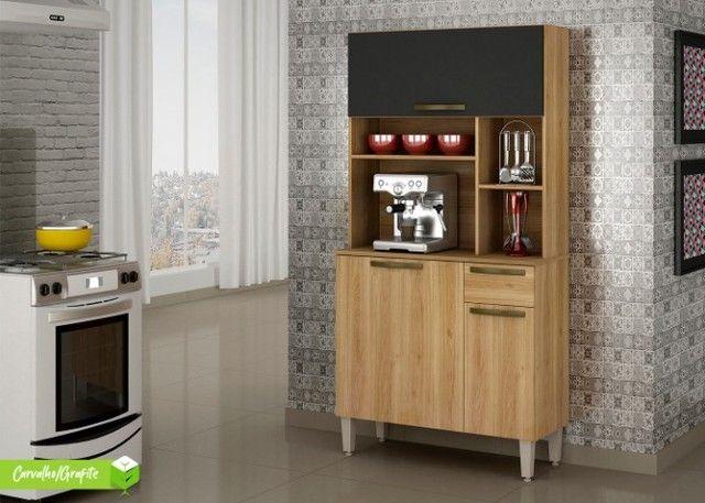 kit Cozinha Jaspe Plus 3Pts 1Gav Salleto - Frete Grátis- Entrega em 24h - Foto 3