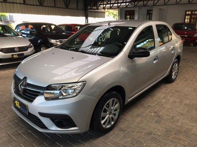 Renault- Logan Life 1.0 Flex Manual (Seminovo, Imposto 2021 pago) - Foto 7