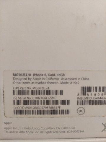 iPhone 6 Gold 16G   *** LEIA O ANÚ - Foto 4