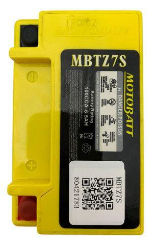 Bateria Motobatt Mbtz7s Ytz7s Crf450 Zx10r Wr250 Wr450 Xre300 Ttr230 Wr250 Pcx150 ytx5l-bs - Foto 4