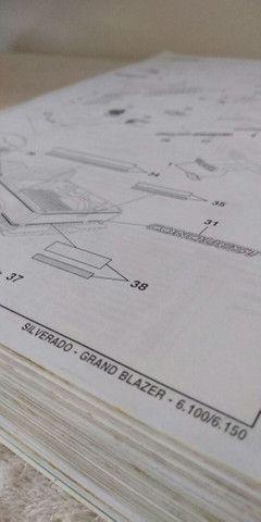 Catálogos ORIGINAIS completos Astra Ômega Silverado Grand Blazer S-10 Vectra - Foto 13