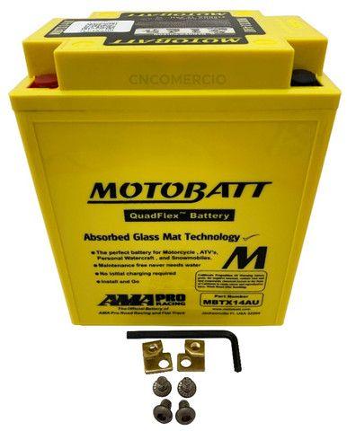 Bateria Motobatt Mbtx14au Honda Cb 750k Four 69-82 Cbx750 Cbf1000 Triumph 900 Yb14a2
