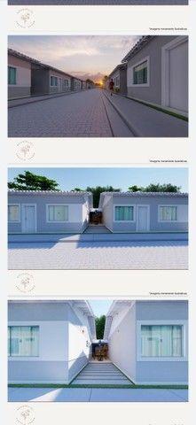 Vendo casa linear com 2 quartos sendo 1 suíte , area gourmet e garagem - Chácara Mariléa - Foto 5