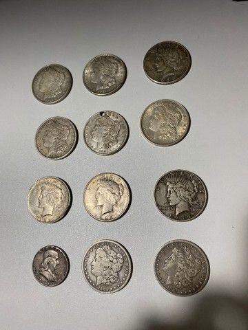 Dollar de prata antigo