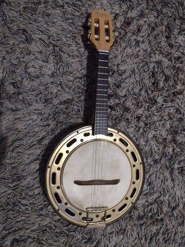 Banjo rosini profissional elétrico RJ 13 eln  - Foto 2