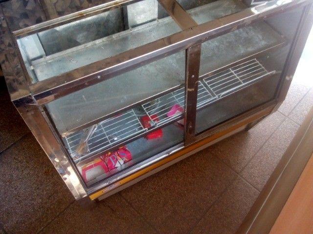 Balcão duas portas expositor refrigerado 220v - Foto 4