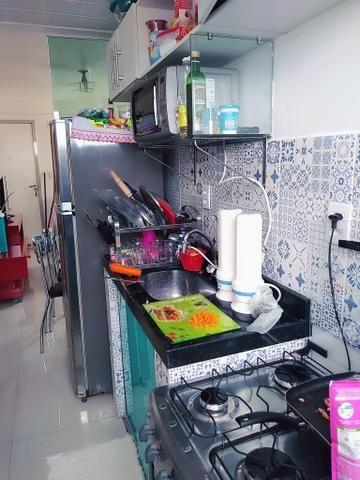 Lindo apartamento ,no porcelanato,e bancadas em granito só R$115.000,00 use seu FGTS!!! - Foto 5