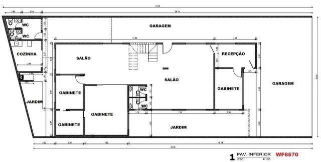 PT0020 Prédio comercial, 6 escritórios, 10 vagas, ponto comercial no Papicu, próx metrofor - Foto 14