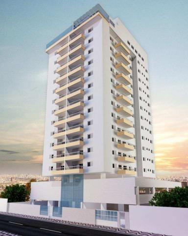 Apartamento com 2 dormitórios à venda, 58 m² por R$ 299.700,00 - Canto do Forte - Praia Gr - Foto 6
