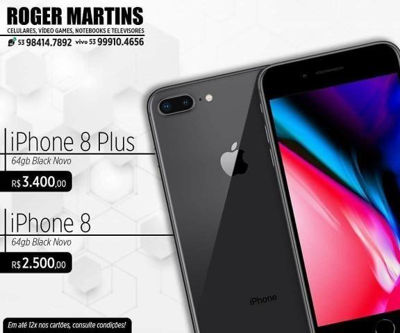 IPhone 8 e 8 Plus Novos