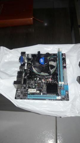 Kit core i3 3220 3 geraçao + 4 gigas apenas 400 reais