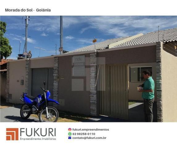 Casa 2Q c/suíte - Setor Morada do Sol - Goiânia