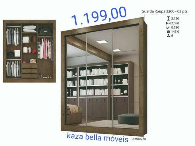 Guarda roupa com espelho produto novo - Móveis - St Garavelo ... 283f17d183