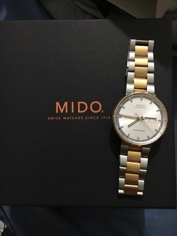 44d9182175d Vendo relógio MIDO Commander - Bijouterias