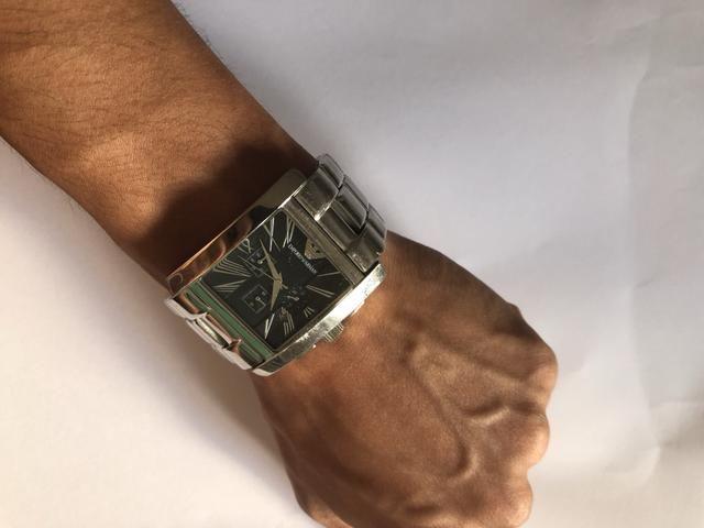 8953e72836a Relógio Empório ARMANI AR 0186 - Bijouterias