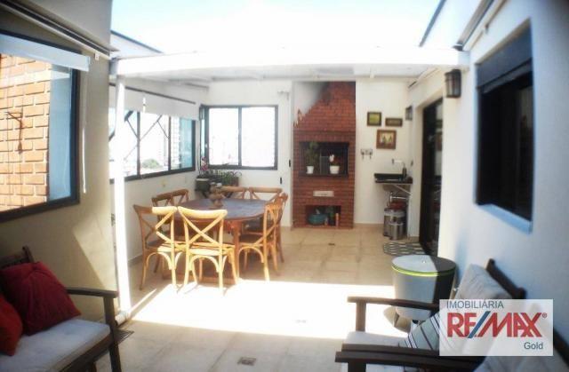 Cobertura 3 dormitórios,2 suítes,churrasqueira,home theater ,rua passo da patria