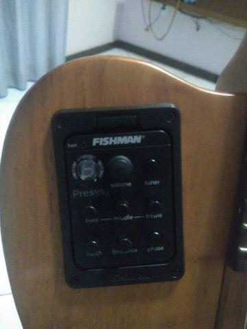 Vendo violão elétrico MARQUÊS - Foto 4