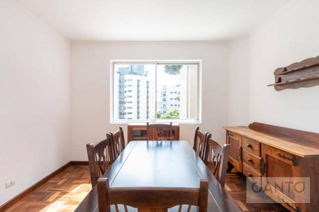 Apartamento com 3 dormitórios para alugar no Batel - condomínio com valor baixo, 96 m² por - Foto 7