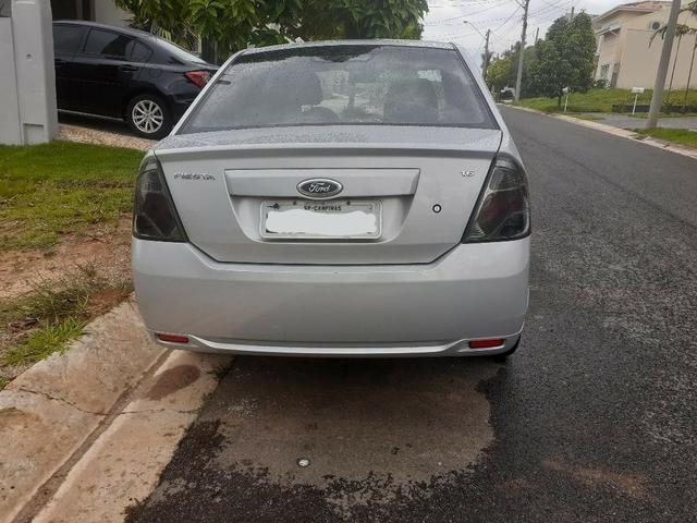 Fiesta Sedan Flex. Prata. Motor 1,6. Ano 2012 - Foto 3