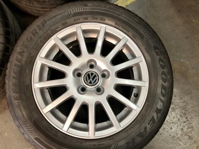 Jogo de rodas aro 15 VW 5x100 - Foto 6