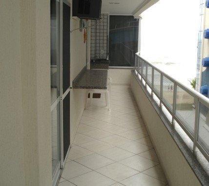 Apartamento 2 quartos vista para praia climatizado - Foto 3