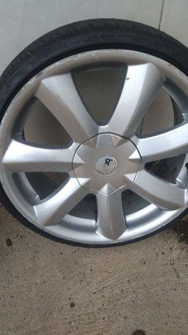 Vendo 17 Santorine tala 6 vai com os pneu - Foto 4