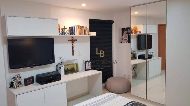 Edf Barão José Miguel Apartamento com 3 dormitórios à venda, 107 m² por R$ 557.000 - Farol - Foto 4