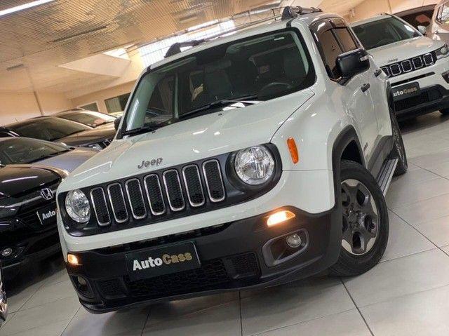 Jeep Renegade 1.8! Sport! Top! Com Acessórios Exclusivos! Raridade! Até 100 % Financiado. - Foto 7