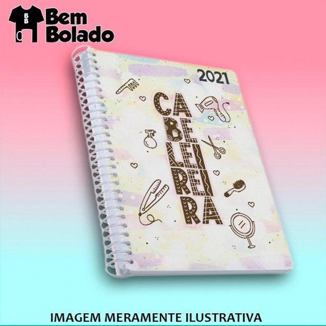 Agenda 2021 Manicure Cabeleireira Salão de Beleza