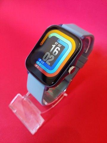 Lançamento Relógio/Smartwatch Colmi P8 Plus > Cor Disponivel: Rosa / Azul / Dourado - Foto 4