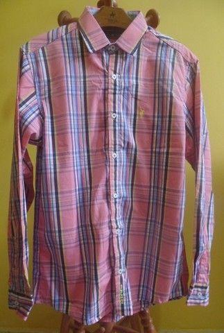 Camisa manga longa feminina - Polo Uk