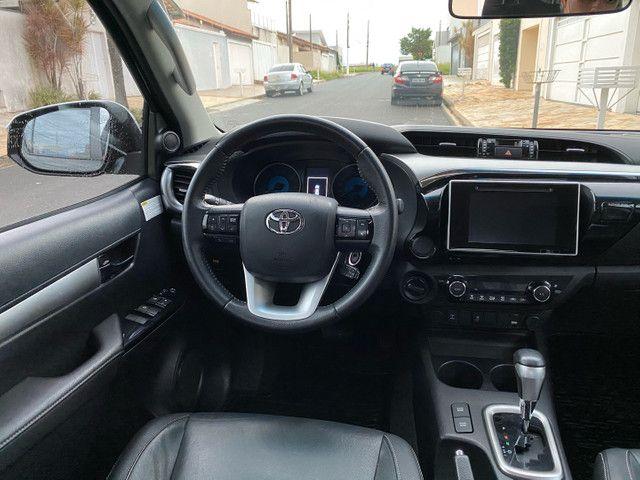 Toyota Hilux SRV 2.8 2018 único dono novíssima  - Foto 7