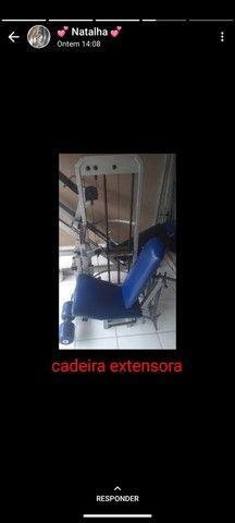 Cadeira extensora + leg espress