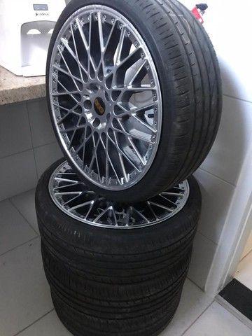 Rodas BBS aro 20, sem os pneus - Foto 2