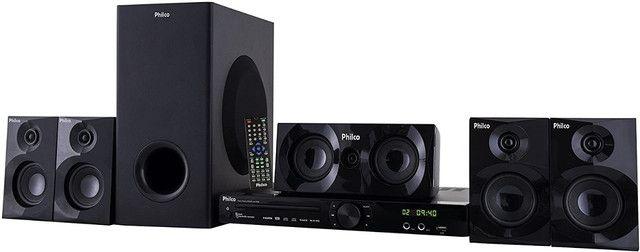 Home Theater Philco PHT690 com USB, HDMI, Karaokê - Potência 480W RMS