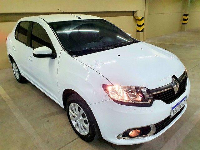 Renault Logan Expression 1.0 12v  Hiflex, 2020 na cor Branca. - Foto 4