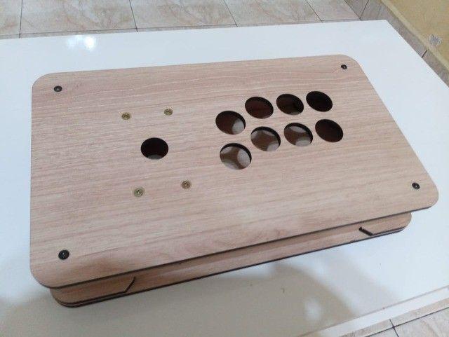 Caixa para Montar controle Arcade TGM - Padrão Americano ou Sanwa - Foto 2