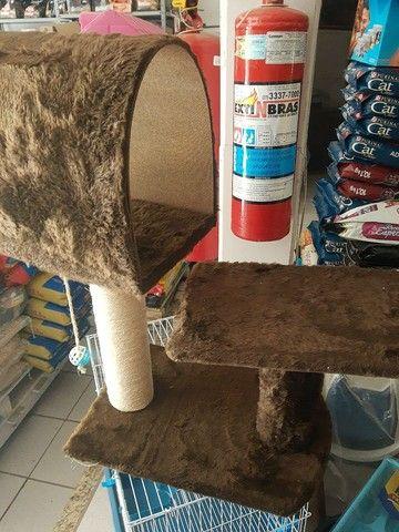 Arranhador novo e toca para gatos - Foto 5