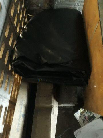 Vendo lona nova mais de 15 metros muito Boa vem de zap * no preso pra 800 - Foto 3