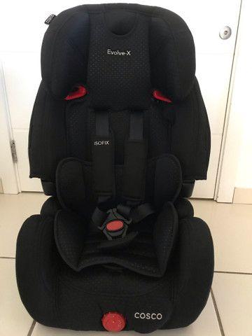 Cadeira Infantil para carro  ( 01- 07 anos)  09 a 36 kg