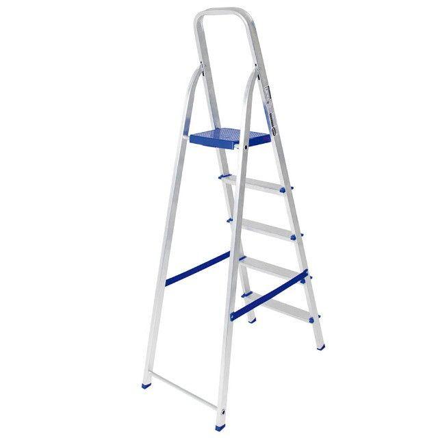 Escada de Aluminio 5 Degraus - 005103