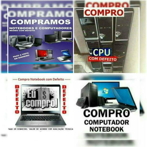 Compro Cpus e notebooks com Defeito