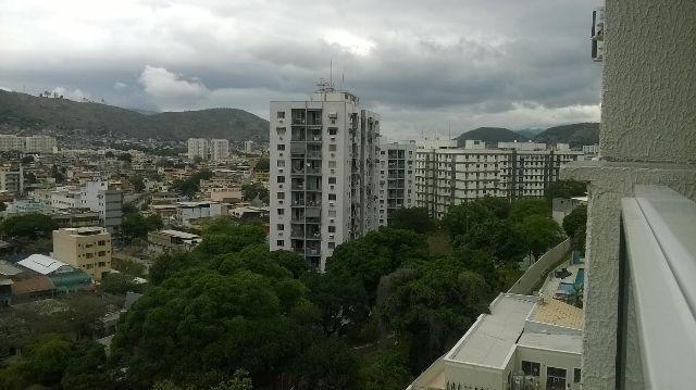 Apartamento em Irajá, prédio novo, 2 quartos com suite