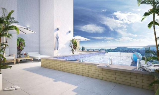 Apartamento com 2 dormitórios à venda, 58 m² por R$ 299.700,00 - Canto do Forte - Praia Gr - Foto 10