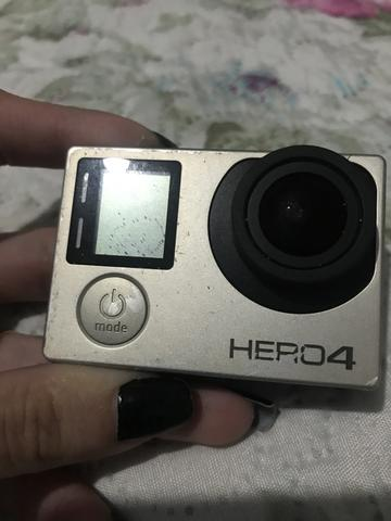 Vendo GoPro Hero 4 com tela lcd embutida