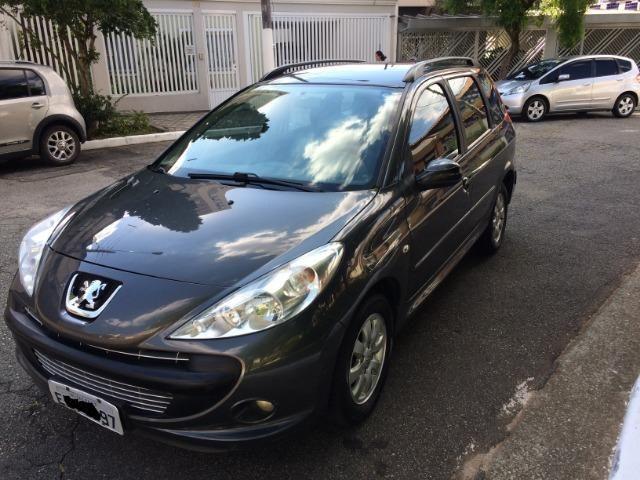 Peugeot 207 SW-Escapade 1.4 8v Completo ec2f6371e9242