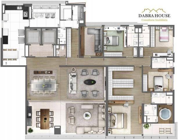 Apartamento à venda com 4 dormitórios em Vila olímpia, São paulo cod:AP0875 - Foto 3